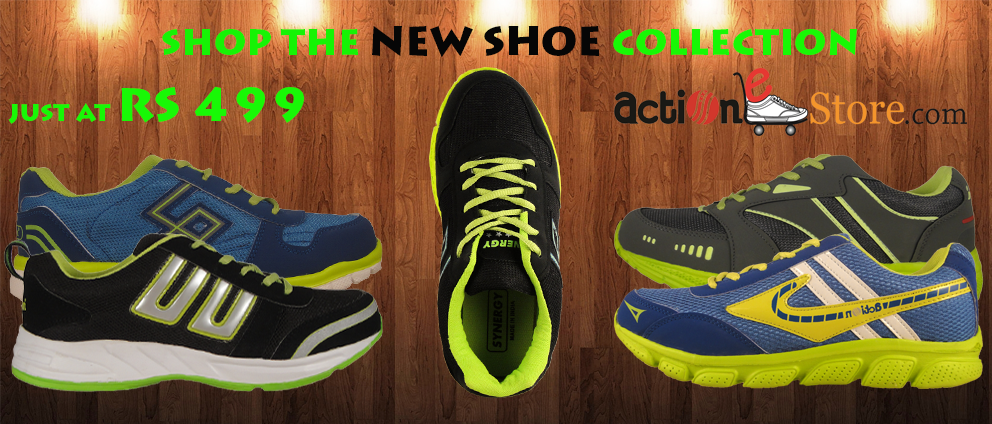 Men Action Sports Shoes Rs. 499