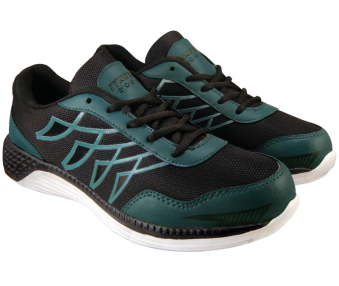 Air Zone-7253-BlackParrotGreen