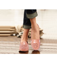 Action Women Loafer Shoes LSN03-Pink